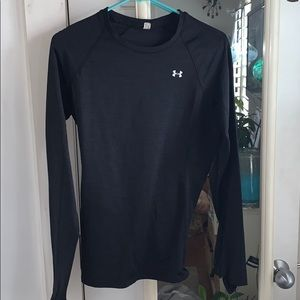 Black athletic long sleeve